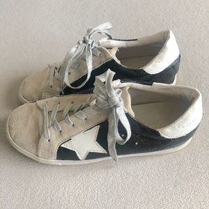 Boutique style sneakers.